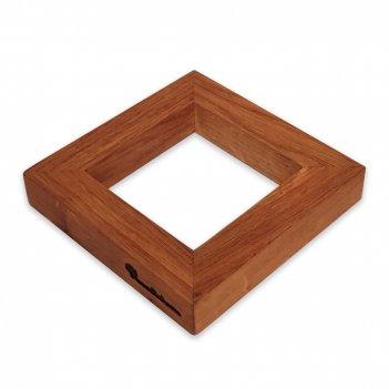 Подставка под горячее hs002on, размер: 19 х 19 х 2,5 см, материал: дерево