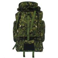 Рюкзак тур. милитари, 37*15*50см, 1 отд на молнии, 5 н/ кармана, пиксель