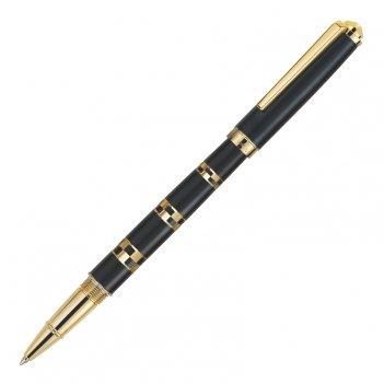 Роллерная ручка pierre cardin gamme. корпус - латунь и лак, отделка - стал