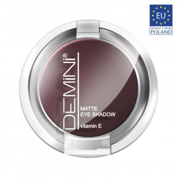 Тени для век demini matte eye shadow с витамином е, тон 718