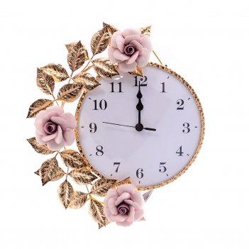 Часы round medium rosaperla