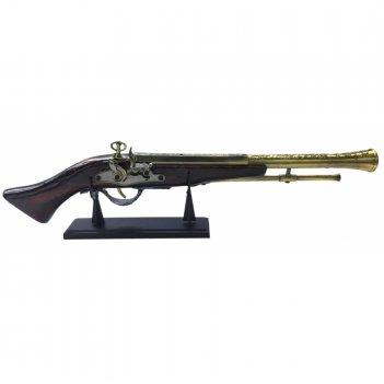 Декоративное изделие ружье на подставке, l53 см