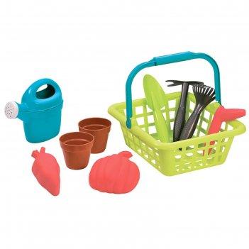 Детская садовая корзина с аксессуарами