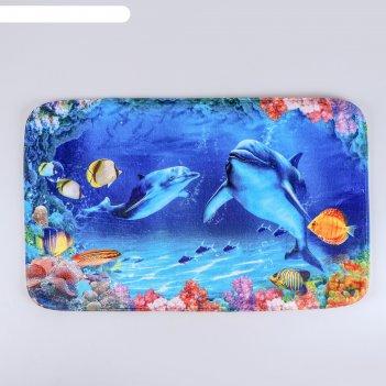 Коврик «морской мир», 50x80 см