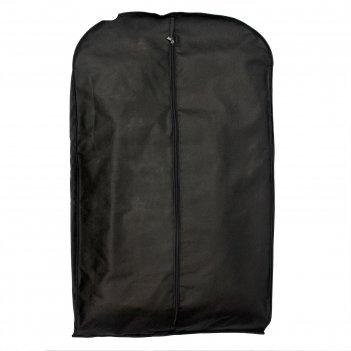 Чехол для одежды для зимней одежды, спанбонд, цвет черный