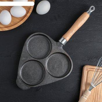 Сковорода-оладница, 37x19 см
