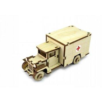 Конструктор lemmo зис-3 советский грузовик зис-5м