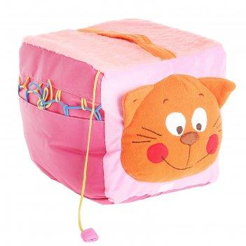 Мягкая игрушка пуфик. кот
