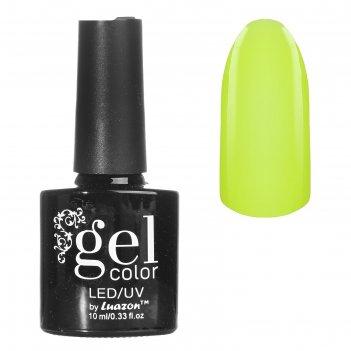Гель-лак для ногтей, светится в темноте, трёхфазный led/uv, 10мл, цвет 04