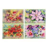Альбом для рисования а4, 40 листов на гребне aguarelle de fleur, блок - оф