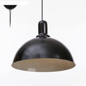 Светильник локи 1x15вт e27 черный