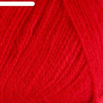 Пряжа angora real 40 60% акрил, 40% шерсть 480м/100гр (56 красный)