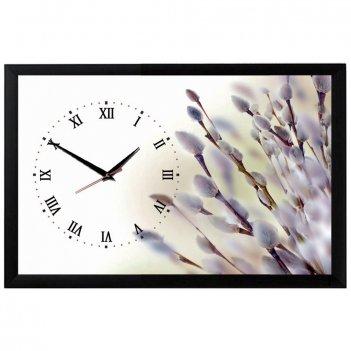 Настенные часы из песка династия 03-157 верба