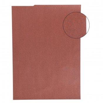 Бумага для творчества фактурная нити красно-коричневые формат а4