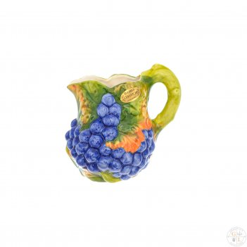 Кувшин orgia виноград синий 1,5 л, высота 20 см