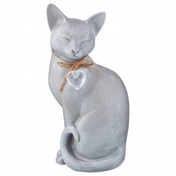 Статуэтка кошка прованс 12*10*25 см (кор=8шт.)