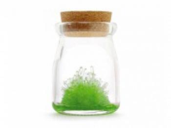 кристалл в банке crystal garden light green