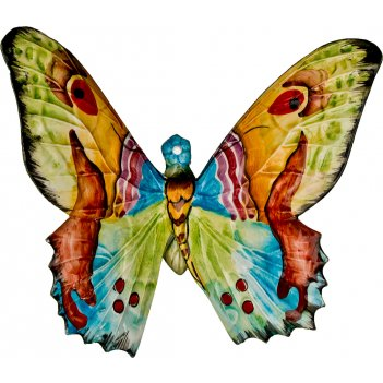 Панно настенное бабочка 22*20 см.