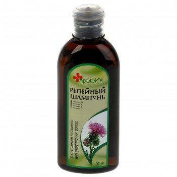 Шампунь apotek`s репейный с комплексом витаминов для укрепления волос, 250