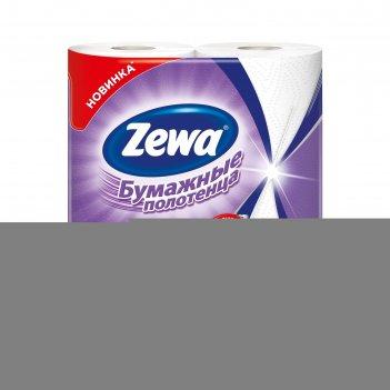 Бумажные полотенца zewa premium, 2 слоя, 2 шт.