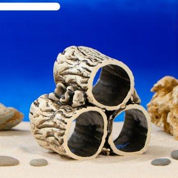 Аквадекор для аквариума соты