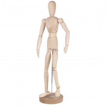 Деревянная фигура мужчина, высота 51 см brauberg