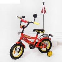 Велосипед двухколесный 12 graffiti тачки, цвет: красный