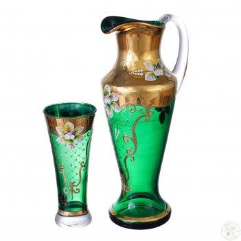 Набор графин и стаканы as crystal матовая полоса 7 предметов
