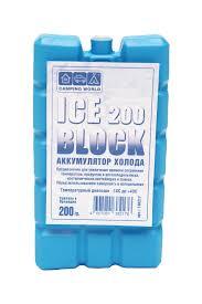 Аккумулятор холода camping world iceblock 200 (для сумки холодильника)