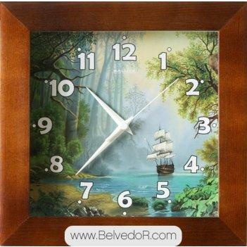 Настенные часы салют дс - 2аа28 - 448