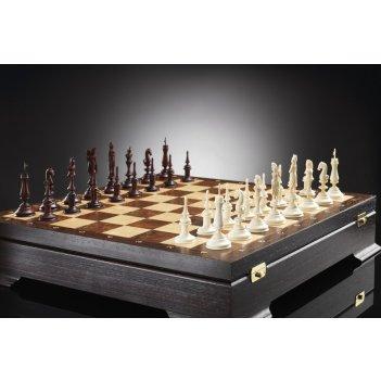 Шахматы французский ампир из бивня мамонта kadun (изготовление на заказ)