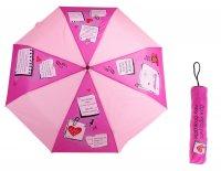 Зонт складной механический в чехле для прогулок под дождем, d = 108 см