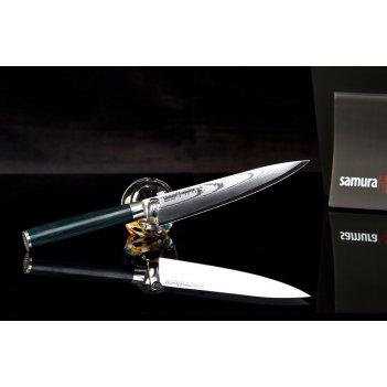 Нож кухонный поварской универсальный samura damascus sd0023 лезв 150 мм