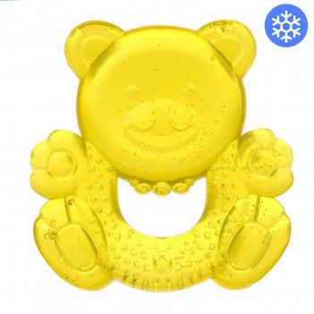 Игрушка прорезывательмилый мишка с водой, цвета микс