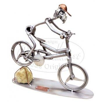707. горный велосипед, спуск, l 22 см, h 20 см
