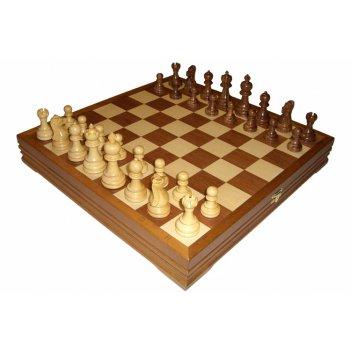 Rtc-3617 шахматы классические деревянные утяжеленные 43х43см