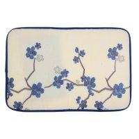 Коврик для ванной сакура 40*60 см, голубой