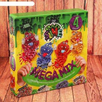 Набор креативного творчества ручной лизун,  4 в 1 slm-03-02
