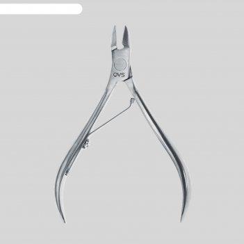Кусачки маникюрные, 10 см, длина лезвия - 4 мм, цвет серебристый