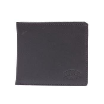 Бумажник klondike claim, натуральная кожа в коричневом цвете, 12 х 2 х 9,5