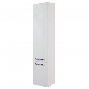 Шкаф-колонна акватон мадрид м универсальный белый
