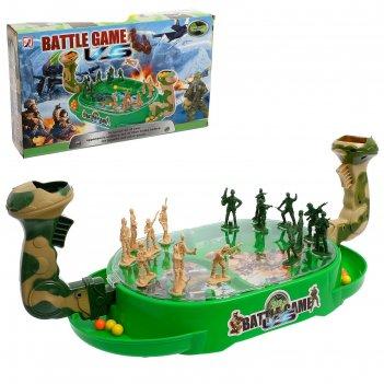 Настольная игра на ловкость «военное сражение», для 2 игроков, стреляет ша