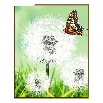 Алмазная мозаика одуванчик, 27 цветов