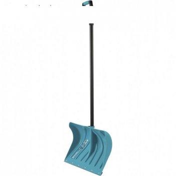 Лопата пластиковая, ковш 325 x 500 мм, с планкой, металлопластиковый черен