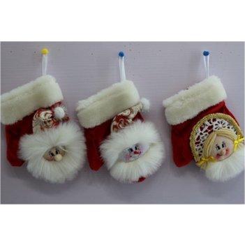 "Новогодний сувенир ""рукавичка для подарков"" 13*5*17см"