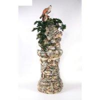 Фонтан напольный гнездо на скале 52*52*170 см