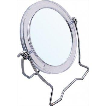 Зеркало kf 675  компактное  7,3 х 8,5 см  ( 24/288)