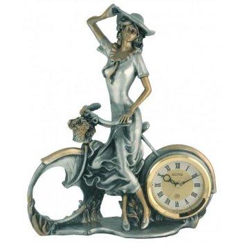 Скульптурные часы из полимерных смол восток к4510-3