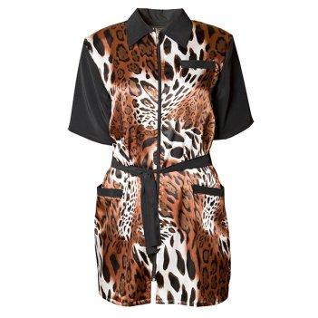 Халат для парикмахера leopard