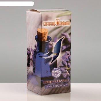 Свеча ароматическая травы прованса, 4x6 см, в коробке